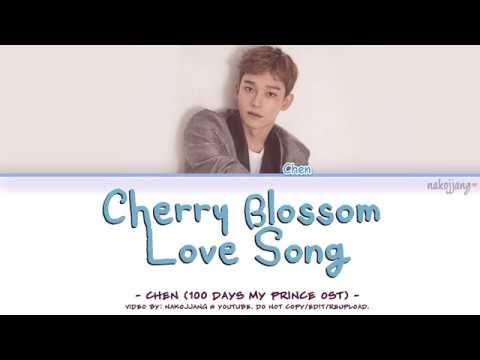 CHEN (첸) – 벚꽃연가 (CHERRY BLOSSOM LOVE SONG) Coded Lyrics Eng/Rom/Han/가사)