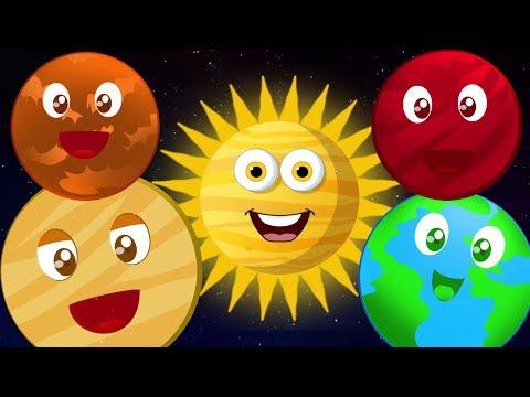 Hành tinh song | Vần thơ bài hát | Giáo dục mầm non | Planets Song For Toddlers | Educational Song