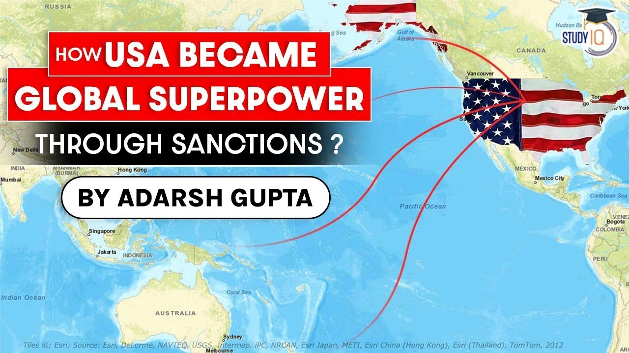 How America control World Economy through Sanctions? Is US using Dollar as an economic weapon? UPSC
