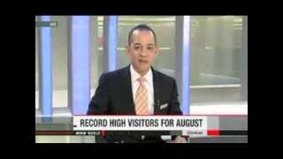 Visitors to Japan hit highest total for August