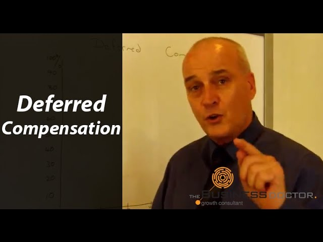 Deferred Compensation - The Business Doctor