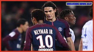 PSG's Neymar and Edinson Cavani clash over penalty duties - Breaking News 24/7