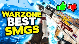Warzone Ranking the T๐p 7 SMGs from WORST to BEST + Class Setup & Loadouts | Cold War Warzone