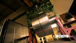 From bauxite to aluminum - or how a printing plate is made.