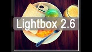 Підключення Lightbox 2.6 (інструкція)