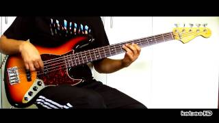 Jamiroquai - Travelling Without Moving (bass cover) Only  Instrumental