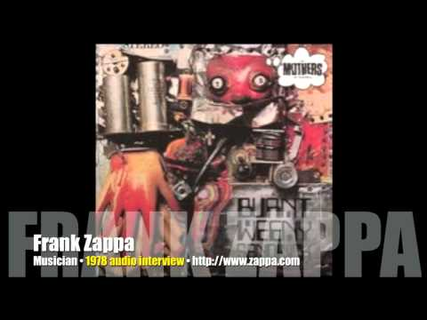 """A """"lost"""" Frank Zappa student radio interview from 1978!"""