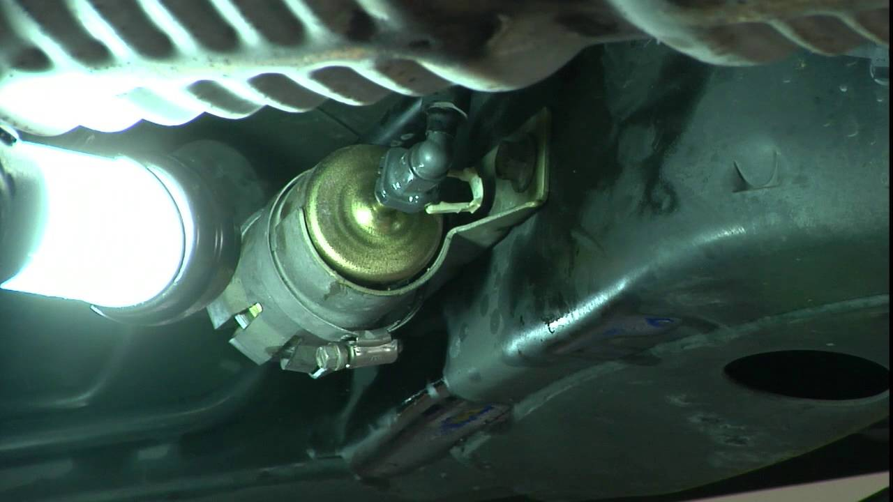 how to replace a fuel filter [ 1280 x 720 Pixel ]
