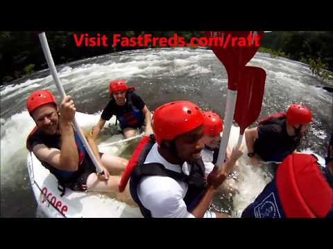 Go Rafting With Fast Fred On The Ocoee River In Tennessee!