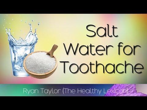 Salt Water: for Toothache