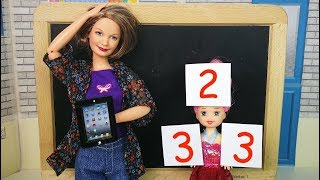 КОГДА БАБУШКА НА ДАЧЕ Мультик Барби Школа Игры в Куклы Игрушки для девочек