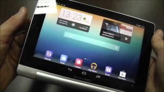 """Lenovo Yoga Tablet 8 - эргономичный 4-ядерный планшет с 8"""" HD IPS экраном - видео обзор"""