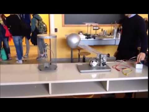 Esperimento con la gabbia di faraday youtube for Youtube la gabbia