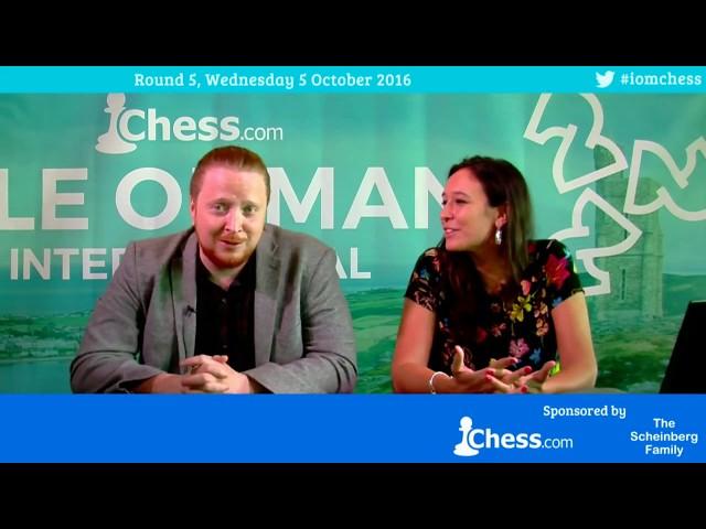 2016 Chess.com Isle of Man Tournament (Douglas) Round 5, Part 1