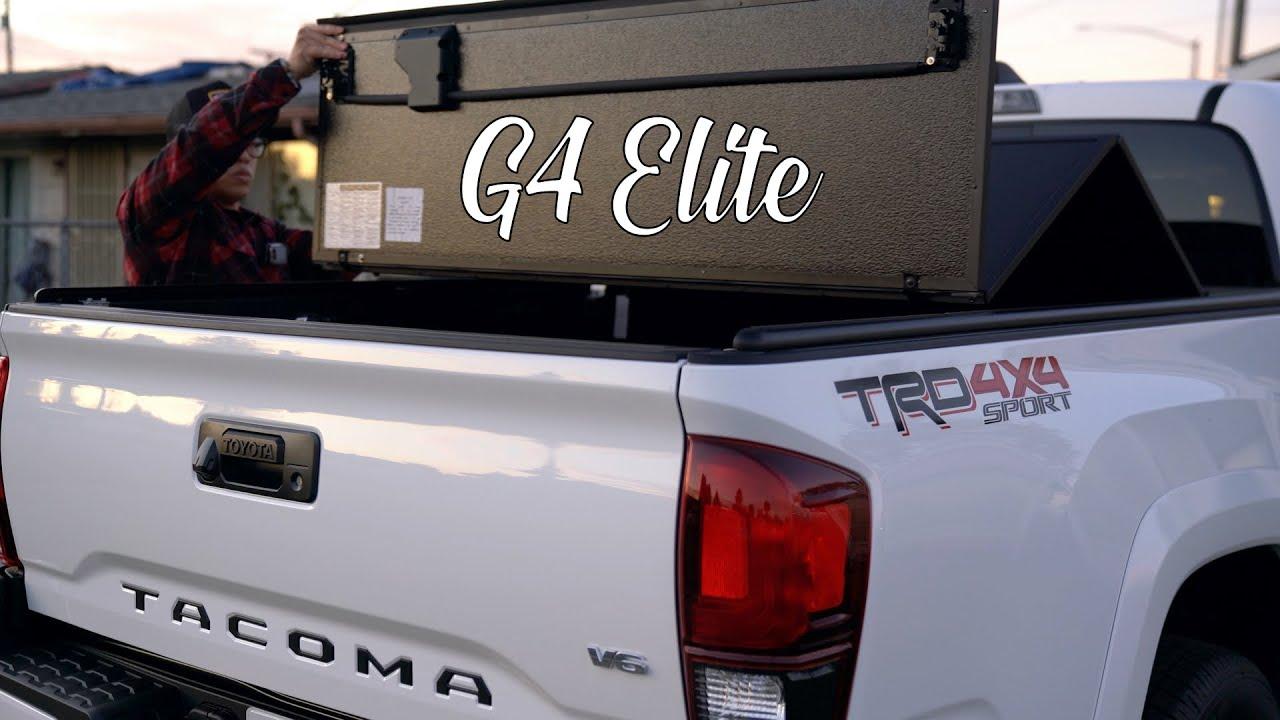 Fold A Cover G4 Elite Toyota Tacoma Youtube