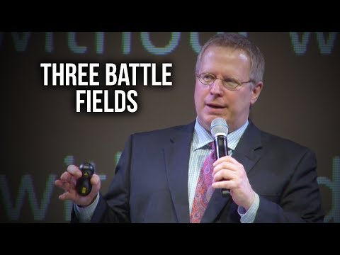 """Three Battle Fields"" – Pastor Raymond Woodward"
