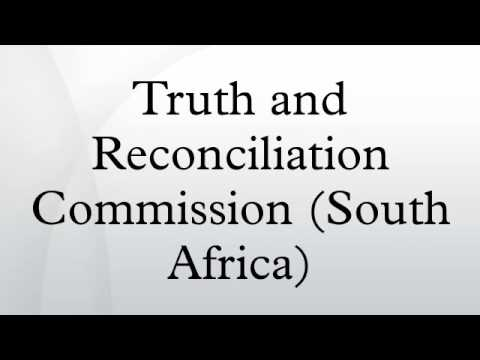 Truth and Reconciliation Commission (South Africa)