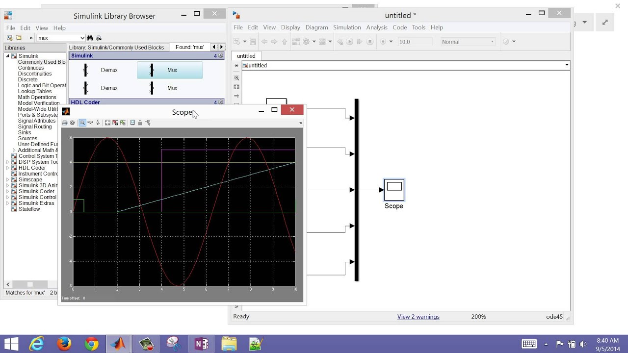 ChE 436: Simulink and MATLAB Programming Help | Dynamics and Control