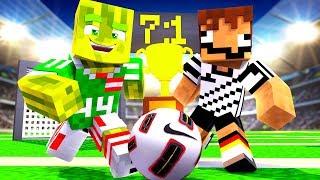 DEUTSCHLAND vs. ÖSTERREICH?! - Minecraft FUßBALL WM 2018