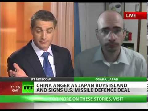 Build upto WW3   CHINA Anger As JAPAN Buys DISPUTED Islands and Signs US MISSILE Defence Deal