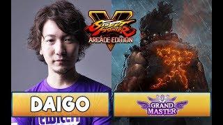 Daigo Umehara vs Grand Masters [Sandbag, Yossan, Wild Combu and more!] - SFVAE Season 3.5
