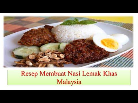resep-membuat-nasi-lemak-khas-malaysia