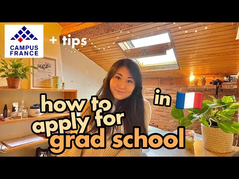 How to Apply for Masters in France 📚   Campus France procedure