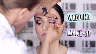 Mijn make-up voor de bruiloft! Dit wordt gedaan door Pascale Tesser...