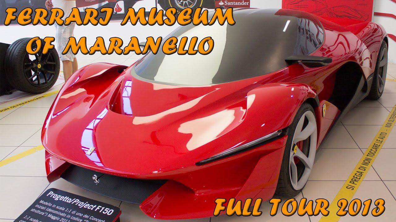 Ferrari museum of maranello full tour laferrari enzo f40 etc ferrari museum of maranello full tour laferrari enzo f40 etc 2014 hq youtube vanachro Gallery