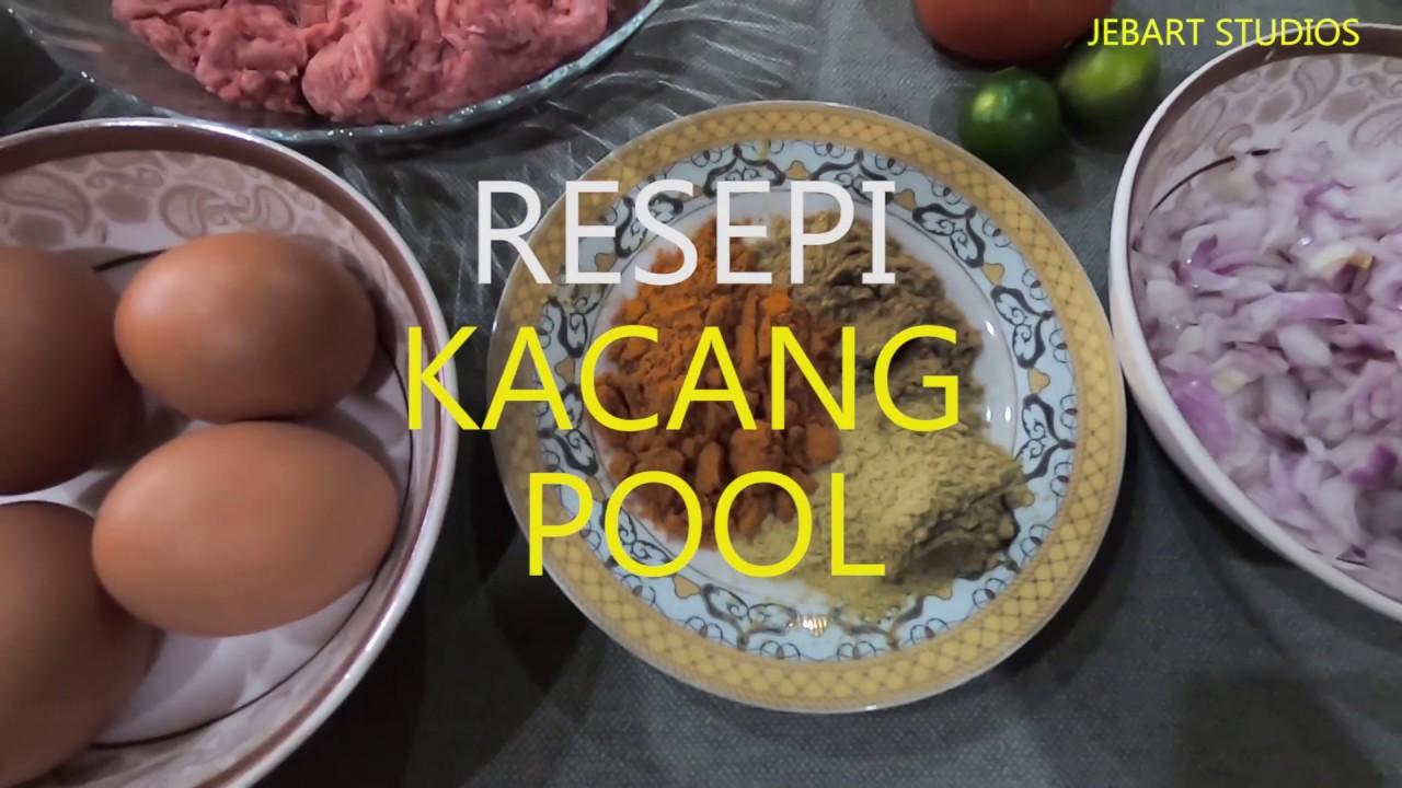 Resepi Kacang Pool Youtube
