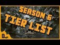 For Honor - Season 6 Tier List