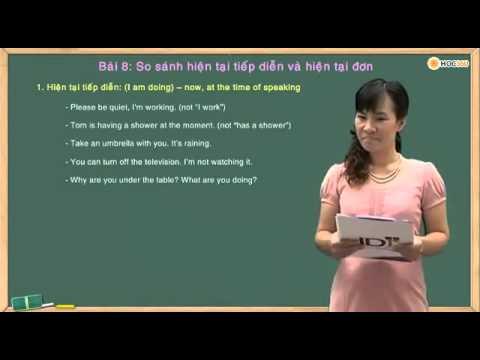 Bài 8: Tiếng Anh Cho Người Mới Học   So S Nh HTTD V  HT G