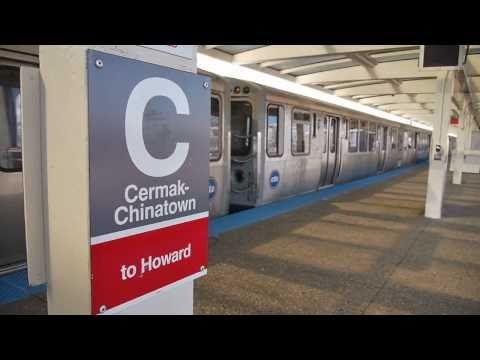 Riding the Red Line: The Cermak / Chinatown station in Chicago