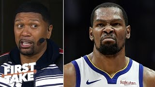 By the time KD returns, it will be too late for the Warriors - Jalen Rose | First Take