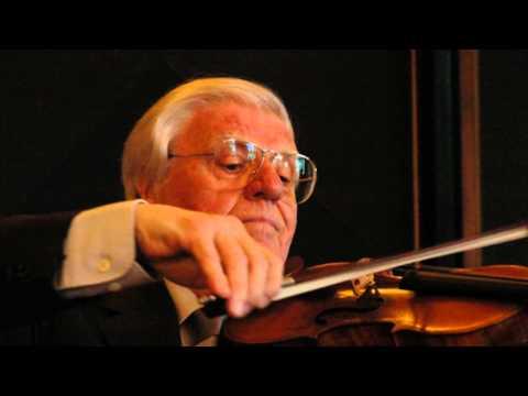 Antonín Dvořák - Když mne stará matka, housle Josef Suk