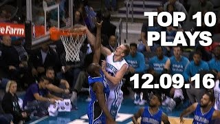Repeat youtube video Top 10 NBA Plays: 12.09.16
