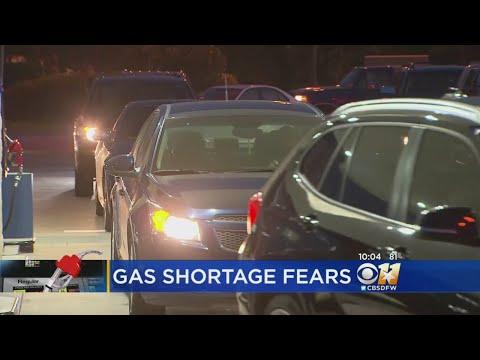 Gas Shortage Fears Grip Parts Of North Texas
