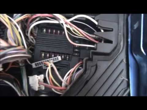 How to remove fusebox on Renault Megane  YouTube