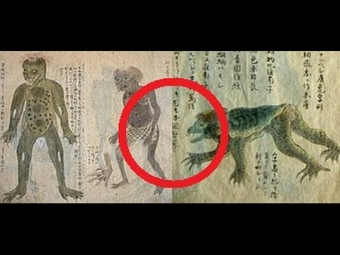 kappa the mythical japanese water demon displayed youtube