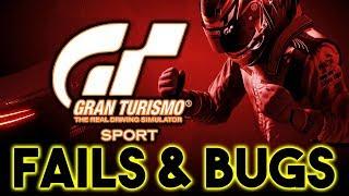 Gran Turismo Sport - Fails & Bugs