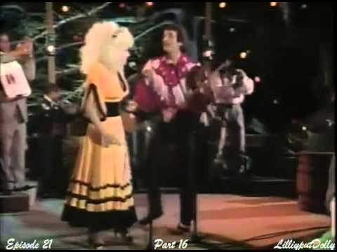 Dolly Parton  Doug Kirshaw - Louisiana Saturday Night on Dolly Show 1987/88 (Ep 21, Pt16)