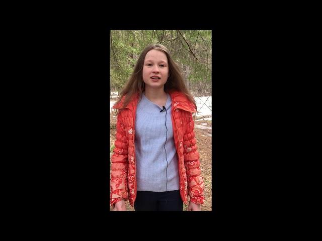 Изображение предпросмотра прочтения – ВалерияТрясоумова читает произведение «Еще дуют холодные ветры...» А.С.Пушкина