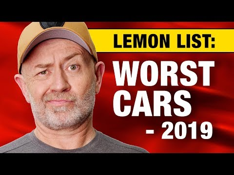 Lemon list: The top 20 worst cars to buy in 2019 | AutoExpert John Cadogan