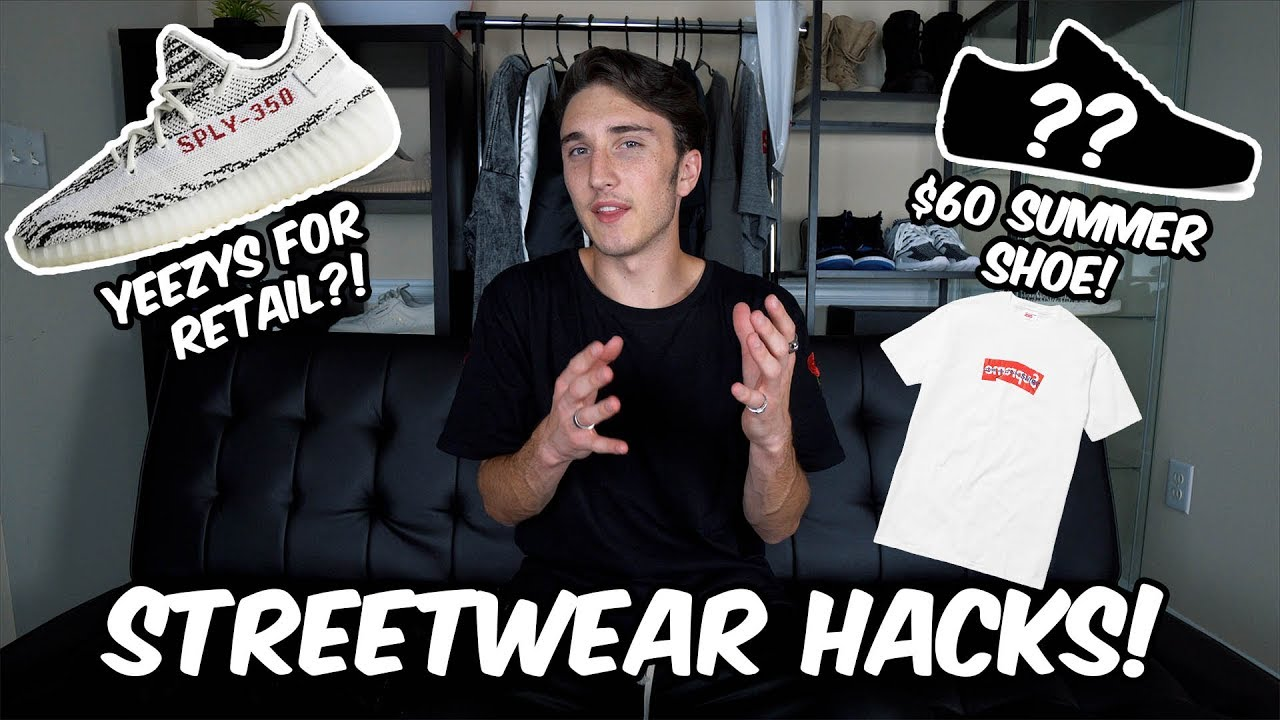 MY TOP 5 STREETWEAR HACKS