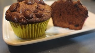 The best Chocolate Cupcake with Cranberries.