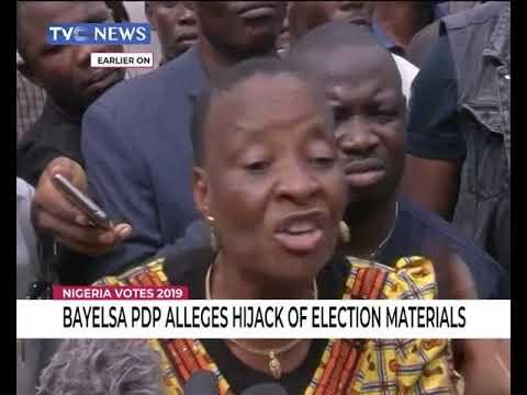 Bayelsa PDP alleges hijack of election materials