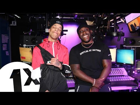 Afghan Dan - Voice Of The Streets Freestyle W/ Kenny Allstar on 1Xtra