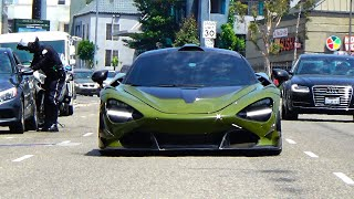 1000 HP Mclaren 720s vs Angry Road Rage Driver