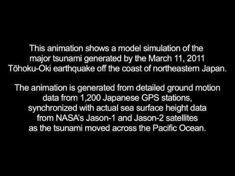 Merging Tsunamis of the 2011 Tohoku-Oki Earthquake