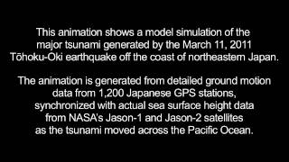 Merging Tsunamis of the 2011 Tohoku-Oki Earthquake